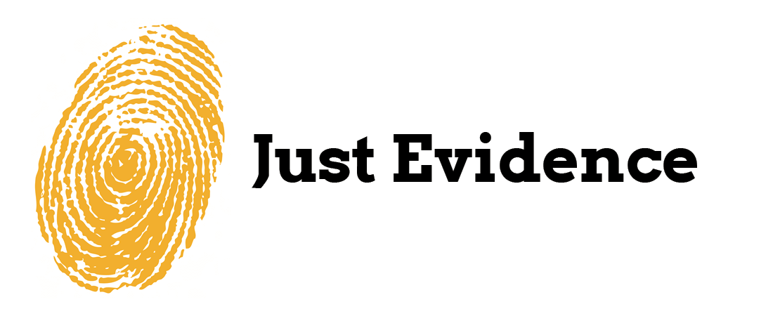 Just Evidence logo